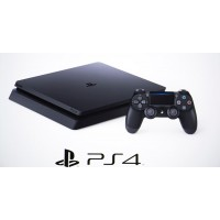 Console Playstation 4 Black SLIM 500GB + 01 Controle