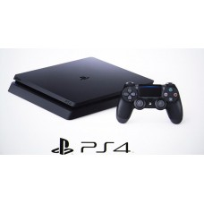 Console Playstation 4 Black SLIM 500GB + 01 Controle